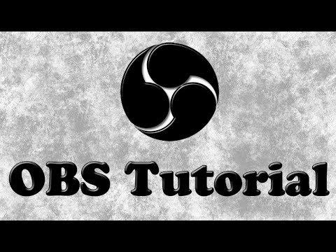 Hướng dẫn cách tải OBS 2018 (Open Broadcast Software)