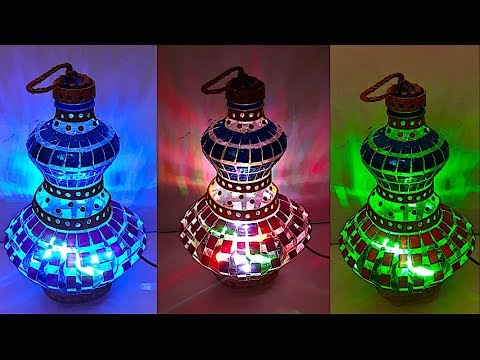 DIY - Lantern/Tealight Holder from plastic bottle (Part 2) | DIY Christmas Decorations Idea