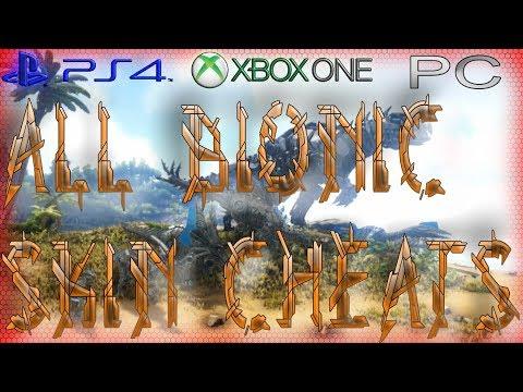 All Bionic Skin Admin Commands | Ark Survival - смотреть онлайн на