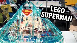 Superman's Fortress of Solitude in LEGO | Bricks Cascade 2020
