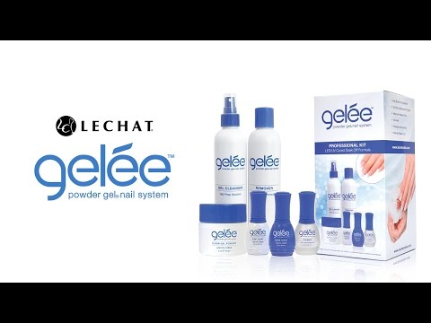 Gelee Powder Gel System - Tip Application
