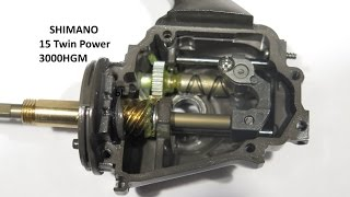 Shimano 15 twin power 3000hgm.