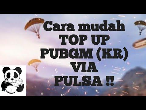 Top up UC PUBG KR Metode pulsa 100% work