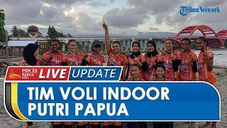 Targetkan Medali Emas pada PON XX Papua, Tim Voli Indoor Putri Papua Sebut Sudah Lakukan Persiapan