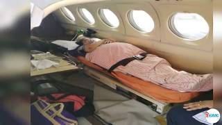 Emergency ICU Setup Medical Support Available by Medivic Air Ambulance