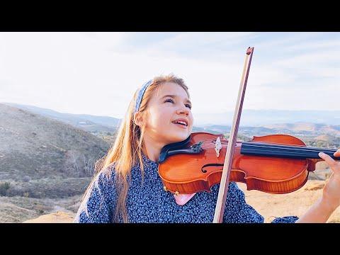 """קרולינה פרוצנקו בביצוע כינור לשיר """"Unchained Melody"""""""