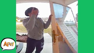 OMG, The WHOLE DOOR Came OFF! 😅 | Funny FAILS | AFV 2020