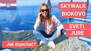 Wjazd na Skywalk i Sveti Jure - niesamowite widoki i szalone drogi w Parku Krajobrazowym Biokovo