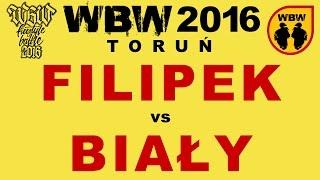 bitwa FILIPEK vs BIAŁY # WBW 2016 Toruń # freestyle battle
