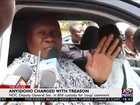 NDC Deputy General Sec. in BNI custody for 'coup' comment - The Pulse on JoyNews (28-3-18)