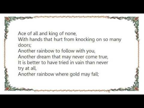 Chris de Burgh - Another Rainbow Lyrics
