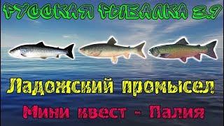 Рыбалка 3 где поймать палия
