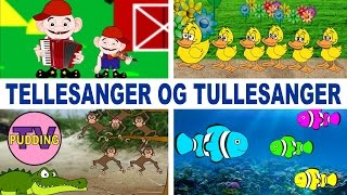 Norske barnesanger | Tellesanger og tullesanger