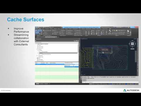 AutoCAD Civil 3D - New Features for 2017