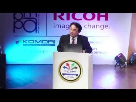 Print Summit 2015 : Toshiyasu Kubotera, Komori Corporation at Print Summit 2015