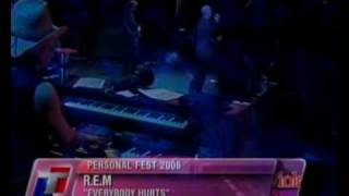 REM   Everybody Hurts (live Personal Fest 2008, Buenos Aires, Argentina)