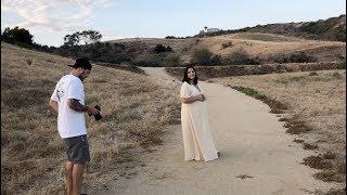 Maternity Pics BTS