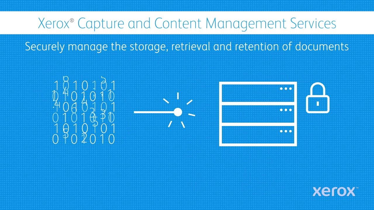 Xerox Capture & Content: Better Information Management YouTube Videó