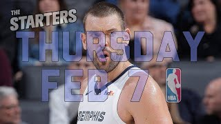 NBA Daily Show: Feb. 7 - The Starters