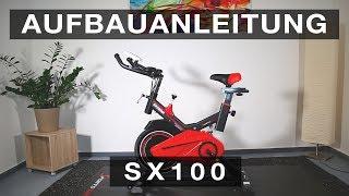 SPORTSTECH SX100 Speedbike - Aufbauanleitung//construction/structure/estructura/struttura
