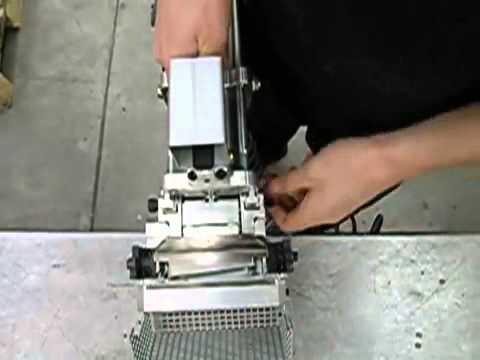 Multifunktions - mobile hydraulische Stanzeinheit für Aluminium Fensterrahmenprofile