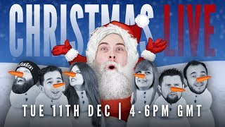 The WhatCulture Gaming Snow-Based Holiday Special LIVE!
