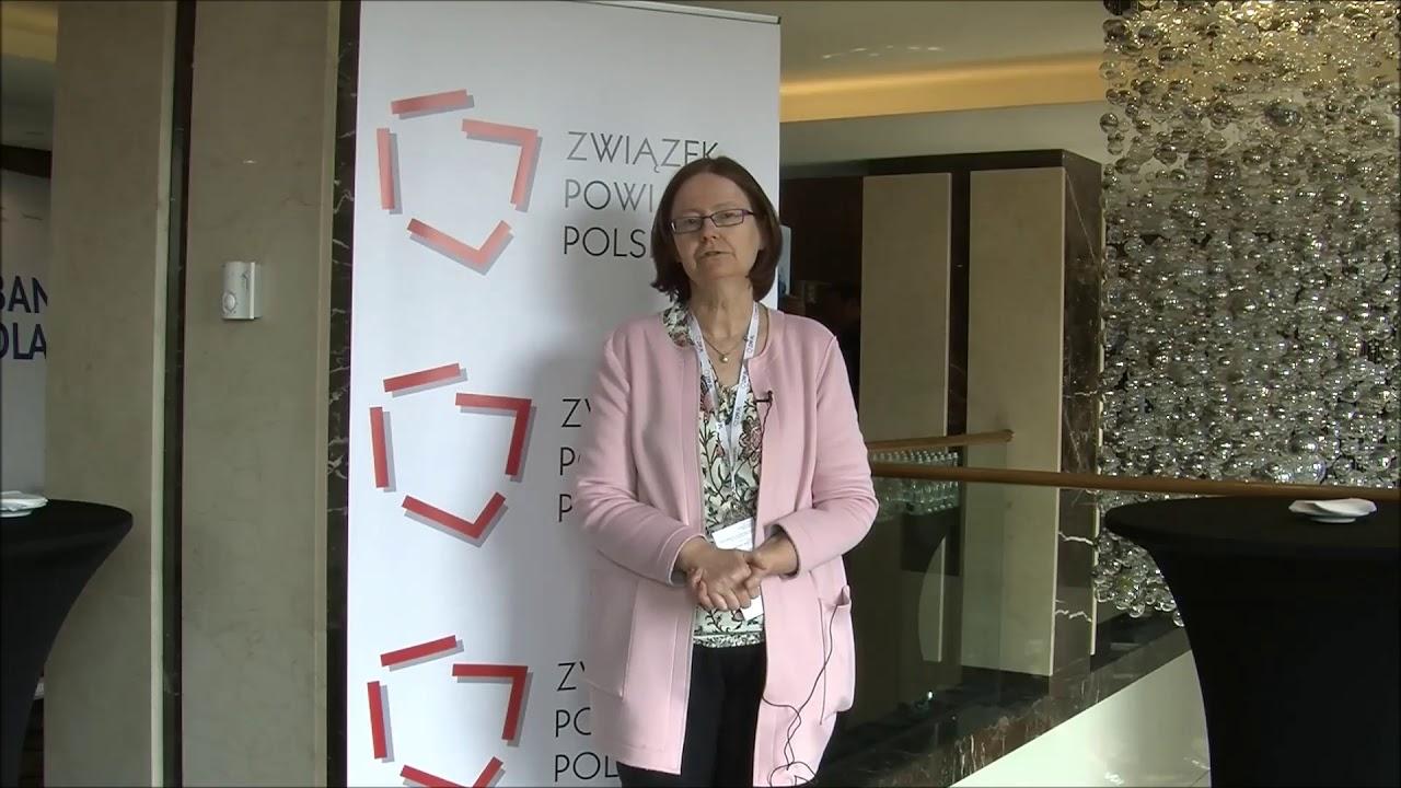 Prof. Irena Lipowicz podczas XXIII Zgromadzenia Ogólnego Związku Powiatów Polskich