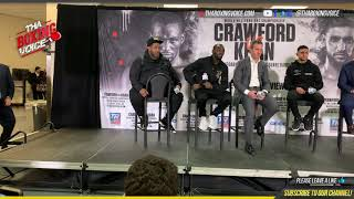 TERENCE CRAWFORD & AMIR KHAN POST-FIGHT PRESS CONFERENCE