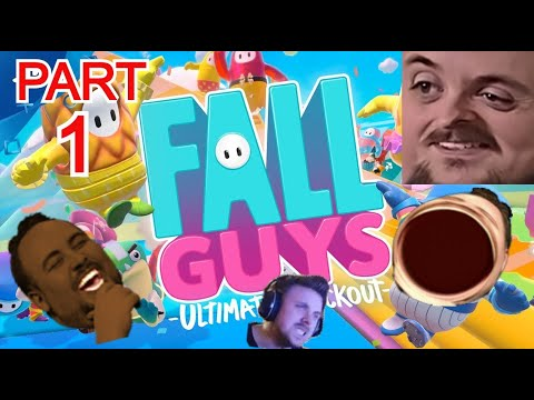 Forsen Plays Fall Guys: Ultimate Knockout Versus Streamsnipers – Part 1 (With Chat)
