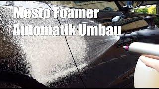 Mesto Foamer Automatik Umbau mit Autoventil - Gloria FM10 Kwazar Venus Alternative