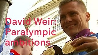 David Weir: Rio Paralympic ambitions
