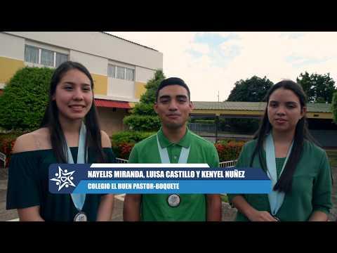Nayelis, Luisa y Kenyel Finalistas Mejor Audiovisual Zona Oeste