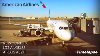 Fly Over States: Timelapse Flight New York to Los Angeles in 4 minutes