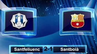 Resum del Santfe 2-1 FCSantboià