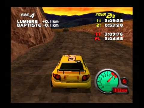 M6 Turbo Racing Playstation