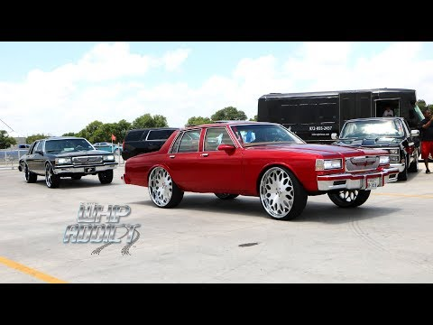 WhipAddict: Texas WhipFest 2018 Car Show & Grudge Race, Part 1, Custom Cars, Trucks, Big Rims
