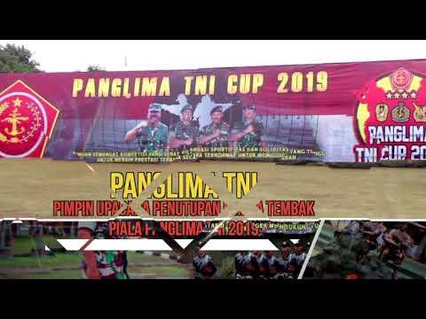 Panglima TNI Pimpin Upacara Penutupan Lomba Tembak Piala Panglima TNI 2019