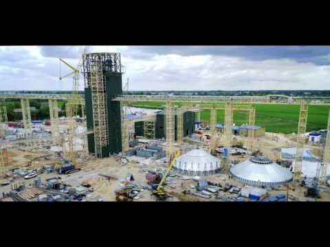 Перевантажувальні термінали компанії «НІБУЛОН» будуються швидко і якісно – усього за 100 днів!