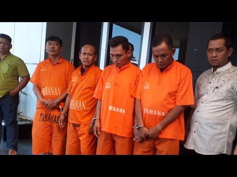 Empat Orang Pencuri Spesialis Rumah Kosong di Bekasi Diringkus