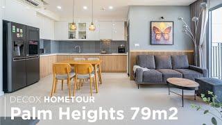 [Decox Home Tour] Khám phá công trình thực tế căn hộ Palm Heights...