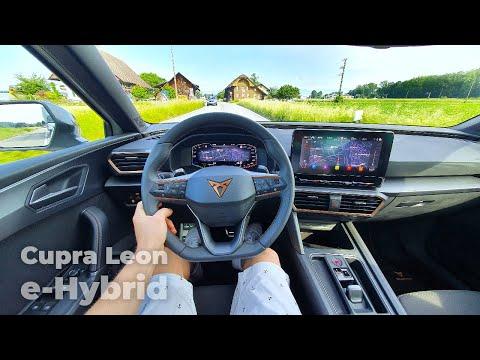New Cupra Leon e-Hybrid 2021 Test Drive Review POV