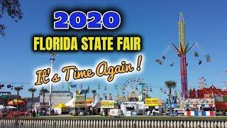 2020 Florida State Fair, It's Time Again!!!