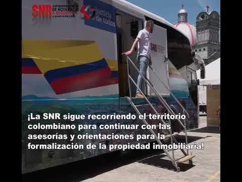 La Unidad Móvil SNR continúa recorriendo Colombia