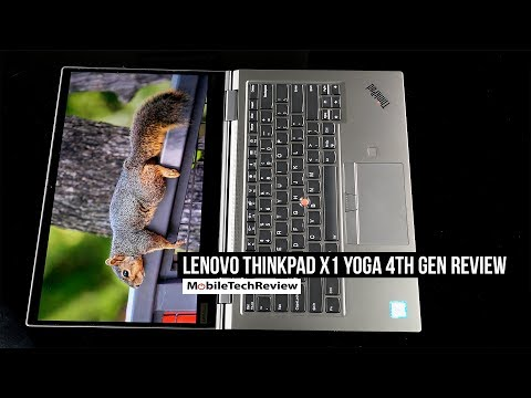 External Review Video ON9QazW_aGg for Lenovo ThinkPad X1 Yoga Gen 4 Laptop