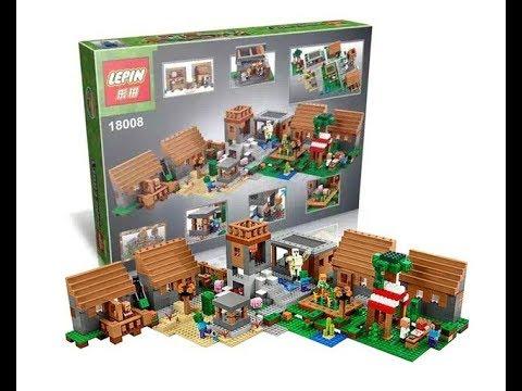 Lepin 18008 Minecraft Lego 21128 The Village Lego Speed