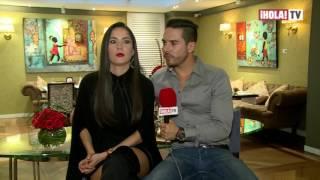 Entrevista con Sebastián Caicedo y Carmen Villalobos: ¿cómo es su relación? | ¡HOLA! Diario