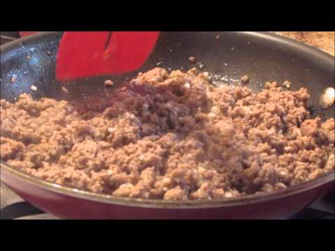 Video Ground Turkey & Spinach