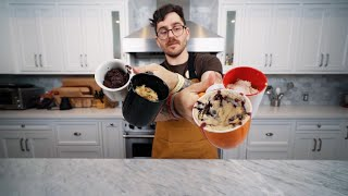 trying pinterest mug recipes