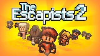 #The Escapists 2. 2 Скотч , подкоп,драки,разочарование.
