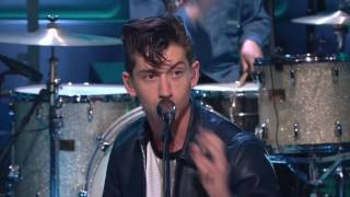 Arctic Monkeys   Reckless Serenade  Live in The Tonight Show with Jay Leno 2011